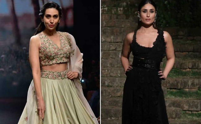 Lakme Fashion Week 2018: Sisters Kareena And Karisma Kapoor Make Final Day Extra Glam