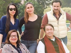 On Randhir Kapoor's Birthday, A Million Dollar Pic Of Kareena, Saif, Karisma And Babita