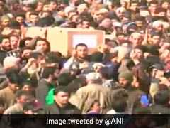Large Crowds At Funerals Of Sunjuwan Attack Victims In Kashmir Valley