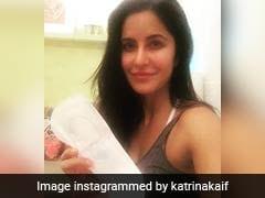 Katrina Kaif Takes The '<I>PadMan</i> Challenge.' Akshay Kumar Sends Her 'Big Hug'