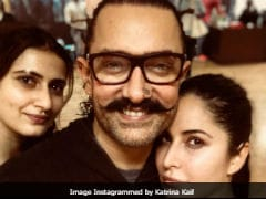 Katrina Kaif Posts New Selfie With 'Thugs' Aamir Khan And Fatima Sana Shaikh