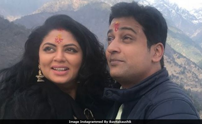 Inside Kavita Kaushik And Ronnit Biswas' Unique Wedding Anniversary Celebrations