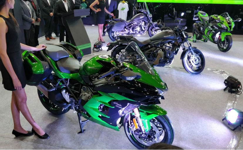 Auto Expo 2018: Kawasaki Ninja H2 SX Launched; Prices Start From ₹ 21.80 Lakh