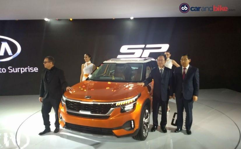 आकार में ह्यूंदैई क्रेटा जैसी है और Kia SP कॉन्सेप्ट का ग्लोबल डेब्यू भारत से किया है