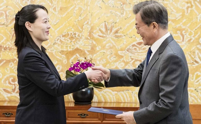 S. Korean president declares 2018 Winter Olympic Games open