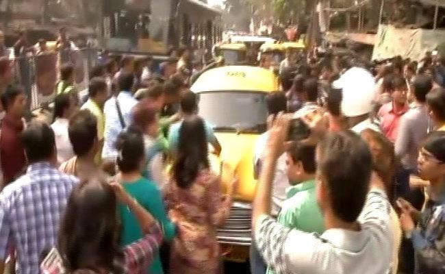 kolkata school protest ndtv