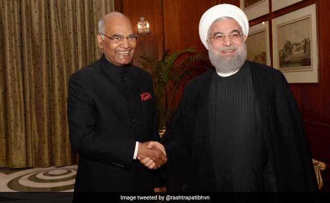Iran President's India Visit Highlights: Iran's Hassan Rouhani Meets With President Ram Nath Kovind