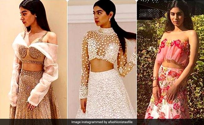 बहन या बेस्टी की शादी के लिए परफेक्ट हैं Khushi Kapoor के ये लहंगे