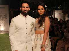 Lakme Fashion Week 2018 Day 1: Shahid Kapoor - Mira Rajput Close Anita Dongre's Show On A Starry Note