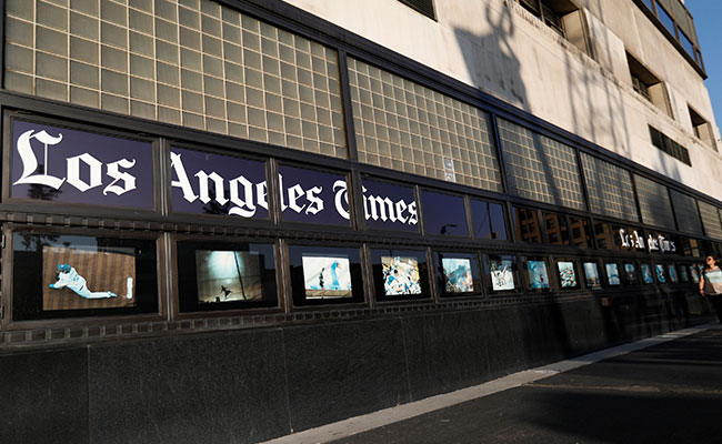 Los Angeles Times sold to local billionaire for USD500 million