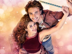 A Valentine's Day Gift From Salman Khan: <i>Loveratri</i> Poster With Warina Hussain And Aayush Sharma
