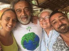 You Know Lucky Ali. But Have You Met His Daughter Tasmiyah? Here They Are In Goa