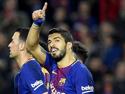 Luis Suarez Hat-Trick Extends Barcelona