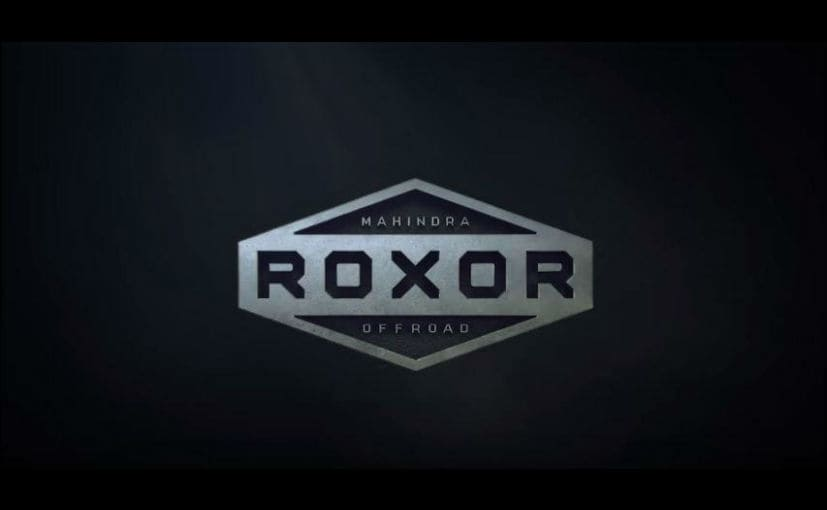 Mahindra Roxor Off-Road Vehicle To Be Unveiled Next Month