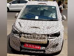 Mahindra U321 MPV Spy Shot Shows New Alloy Wheel Design