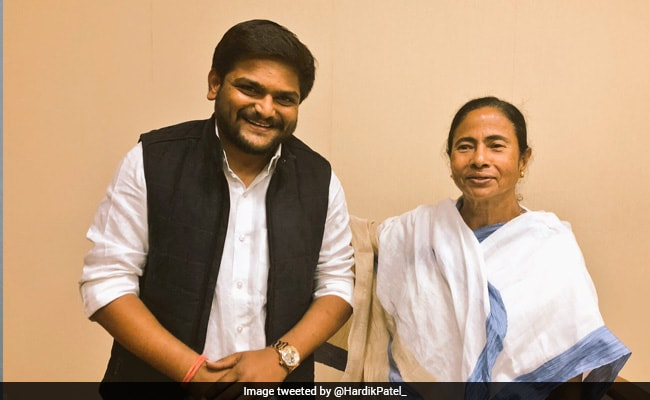 Hardik Patel meets Mamata Banerjee, gets invite to join TMC in Gujarat