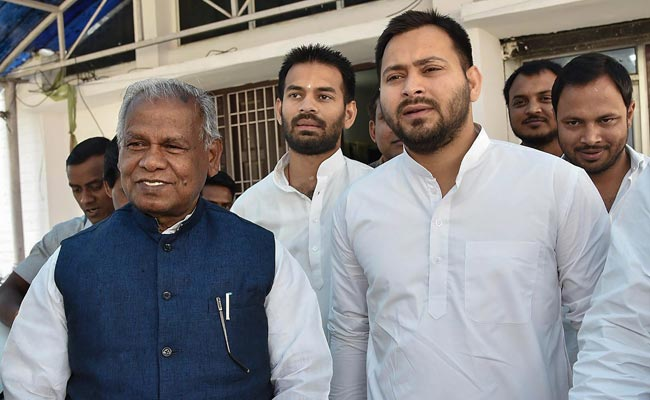 Jitan Ram Manjhi Joins Grand Alliance; 'Welcome,' Says Rabri Devi