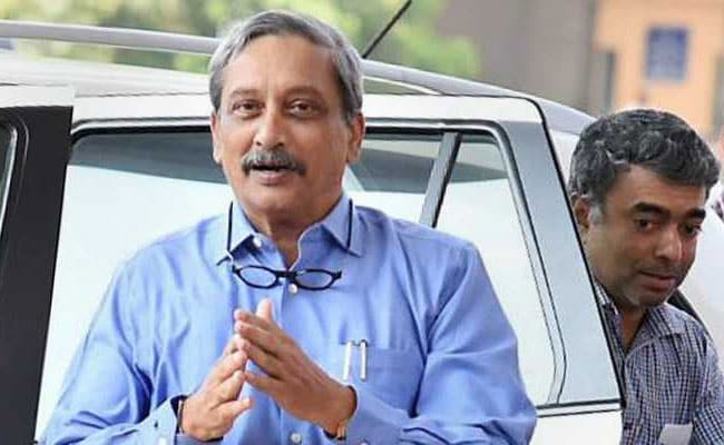 Amid Congress Protest, Manohar Parrikar Talks Of Returning In Weeks