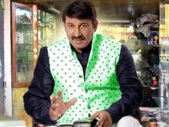 """Arvind Kejriwal's Sit-In Mockery Of Democracy"": Manoj Tiwari"
