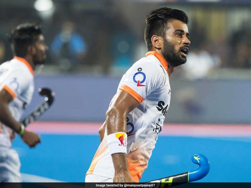The Team Is Raring To Go, Says Indian Hockey Captain Manpreet Singh