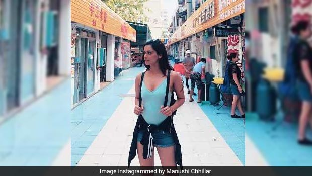 Manushi Chhillar Tries Out The Trendy Bubble Tea- Have You Tasted It Yet?