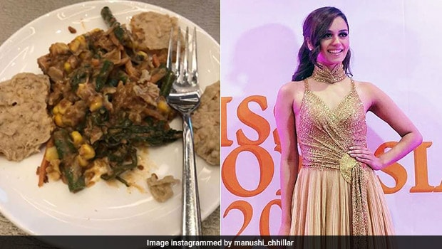 Miss World Manushi Chhillar's Indonesian Mix-Mix Salad Looks Both Nutritious And Delicious!
