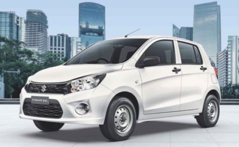Maruti Suzuki Celerio Tour H2 Launched For Fleet Market Priced At