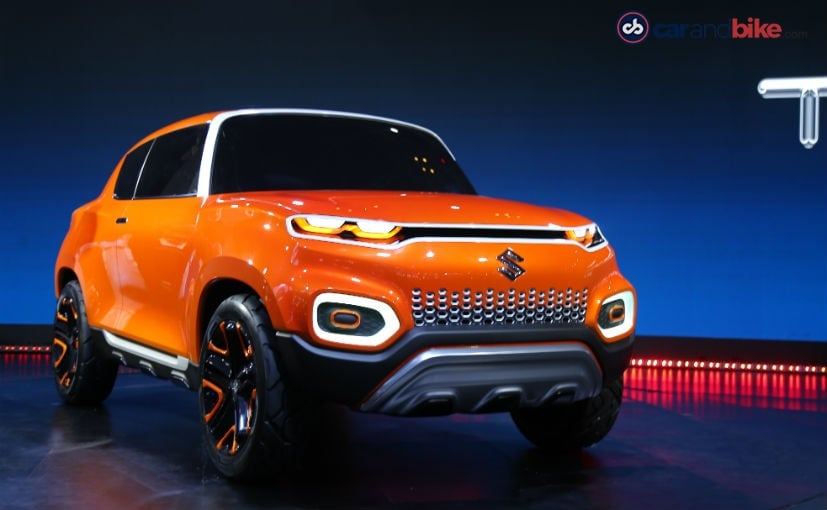 The Maruti Suzuki S-Presso was first showcased as the Future S Concept