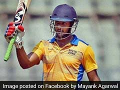 Mayank Agarwal Scores Record 723 Runs In A List-A Tournament