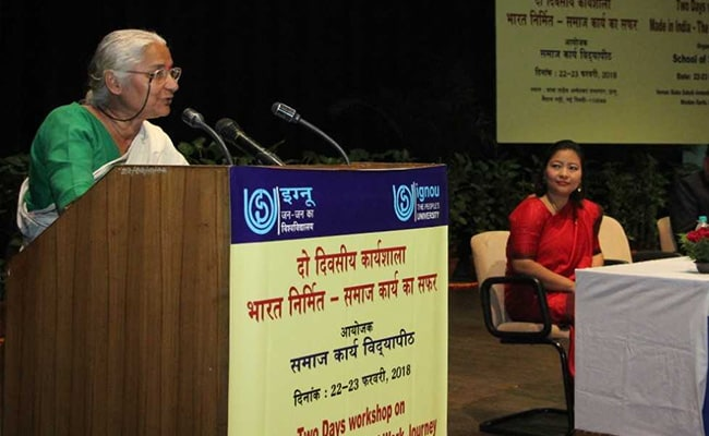 Focus On Practicing Social Work Than Teaching: Medha Patkar At IGNOU
