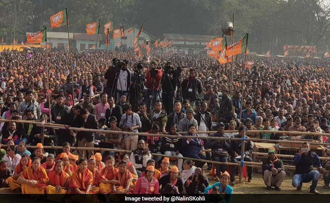 Congress Trying To Force Church Into Meghalaya Politics, Says BJP