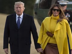 Watch: Donald Trump Awkwardly Attempts To Hold Melania Trump's Hand. Again