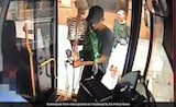Three Men And A Skeleton Board A Bus. No Joke But Theft In Progress