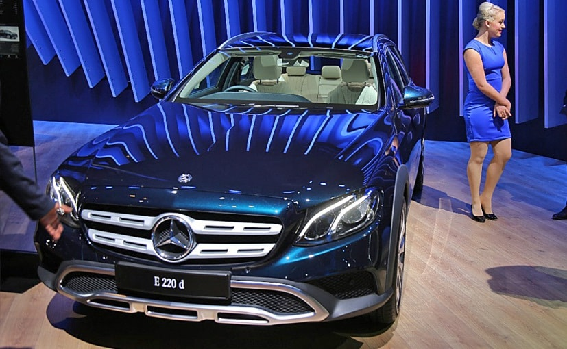 Auto Expo 2018: Mercedes-Benz E-Class All-Terrain Estate Makes India Debut