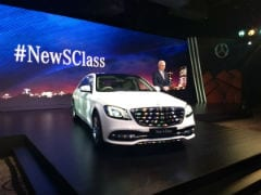 Mercedes-Benz Launches S-Class Facelift In India; Prices Start At Rs. 1.33 Crore