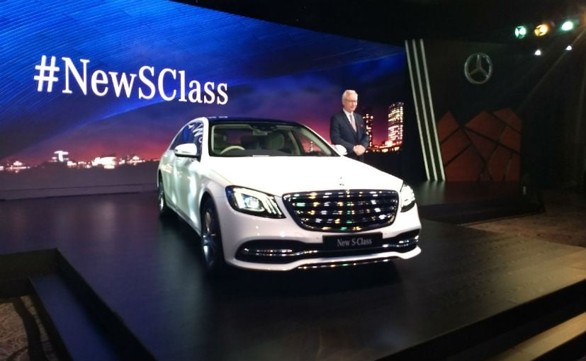 mercedes-benz launches s-class facelift in india; prices start at rs