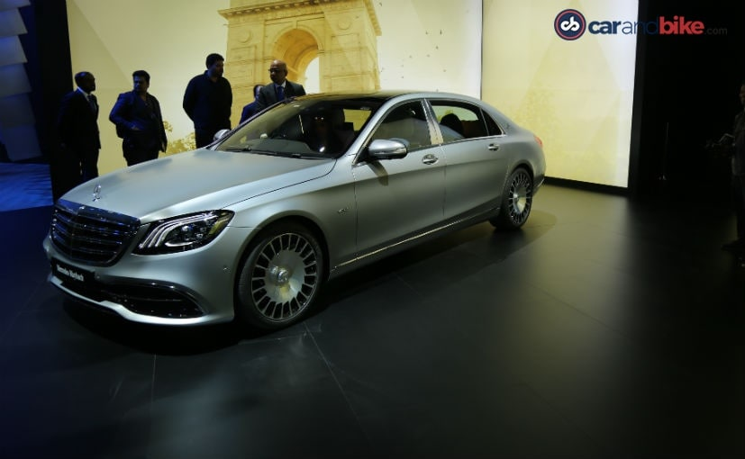 auto expo 2018 mercedes maybach s650 launched in india
