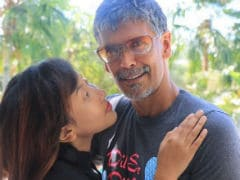 Another Day, Another Adorable Pic Of Milind Soman And Girlfriend Ankita