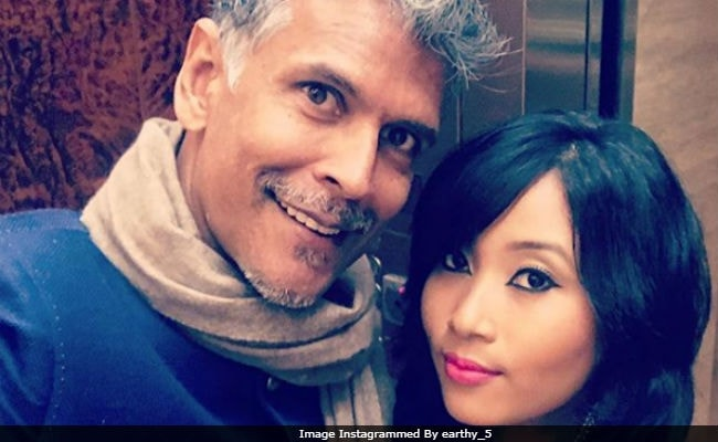 Milind Soman And Girlfriend Ankita's 'Perfect' Selfie 'Needs No Filter.' Seen Yet?