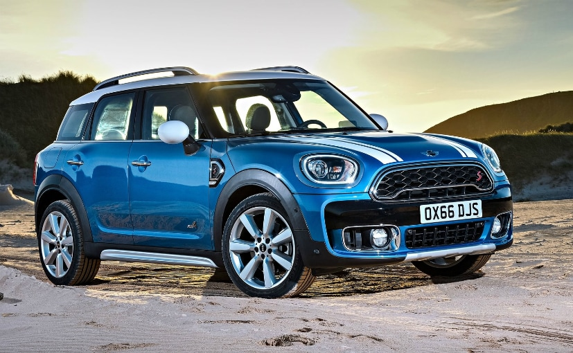 mini countryman launch at auto expo