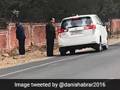 Photo Of Rajasthan Minister Urinating On Jaipur Walls Goes Viral