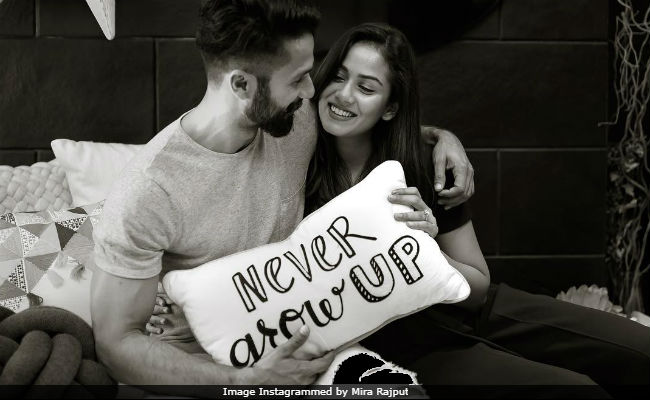 Mira Rajput and Shahid Kapoor promise to