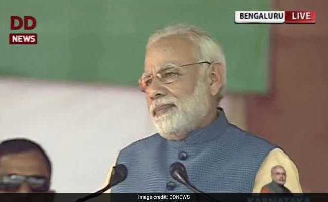 'Time For Congress To Go,' PM Modi Tells Rally In Bengaluru: Highlights