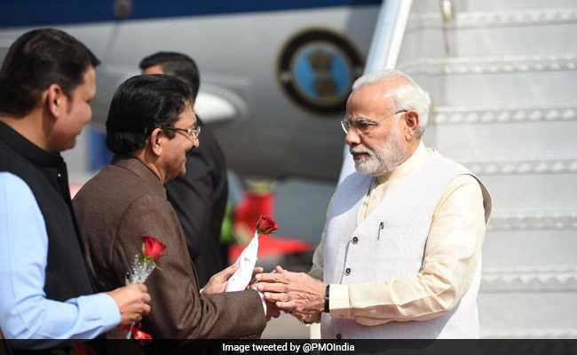 Magnetic Maharashtra Convergence 2018 Highlights: PM Modi Arrives In Mumbai To Inaugurate Global Investors Summit, Navi Mumbai Airport