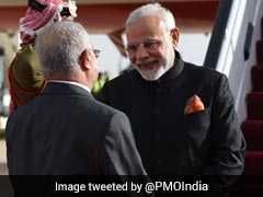 PM Modi Arrives In Jordan As Part Of 3-Nation Gulf, West Asia Tour