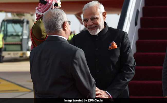 PM Modi On A'Historic Visit Palestine Today Live Updates