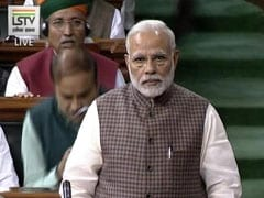 As PM Speaks In Parliament, Opposition Tries To Drown Out Speech With Slogans