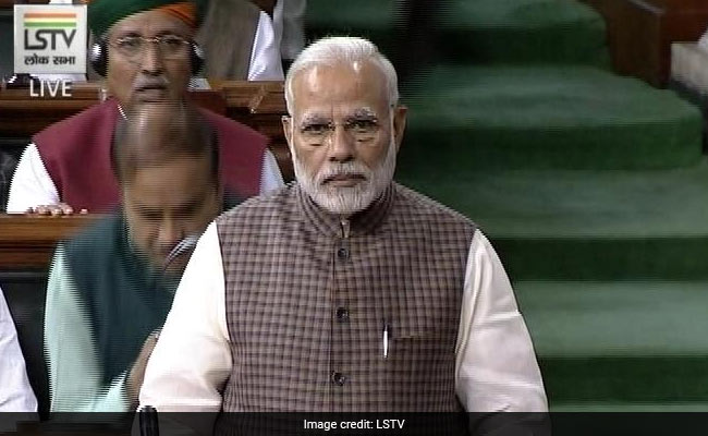 Opposition phases walkout of Lok Sabha after PM Modi's handle