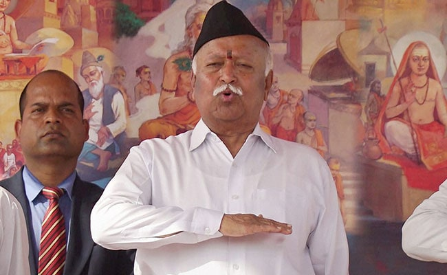 'Is RSS Chief Anti-National Now?' Shiv Sena's New Dig On Corruption