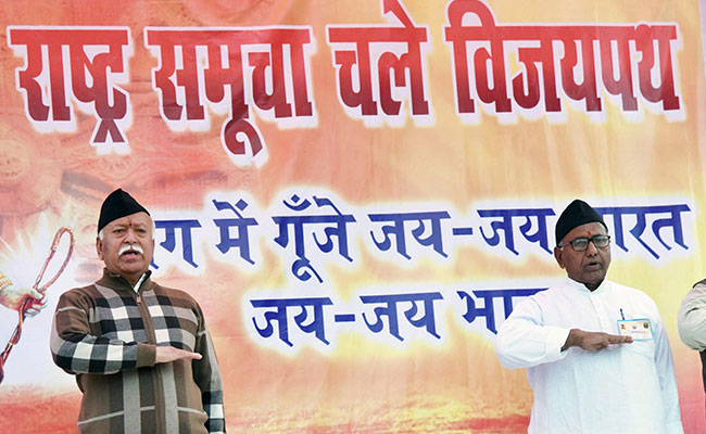 Amid Row, RSS Says Chief Mohan Bhagwat's 'Army' Remark Misrepresented